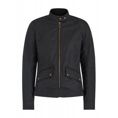 Belstaff Antrim Waxed Cotton Jacket - Black