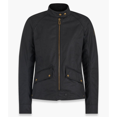 Belstaff Antrim Waxed Cotton Jacket - Black