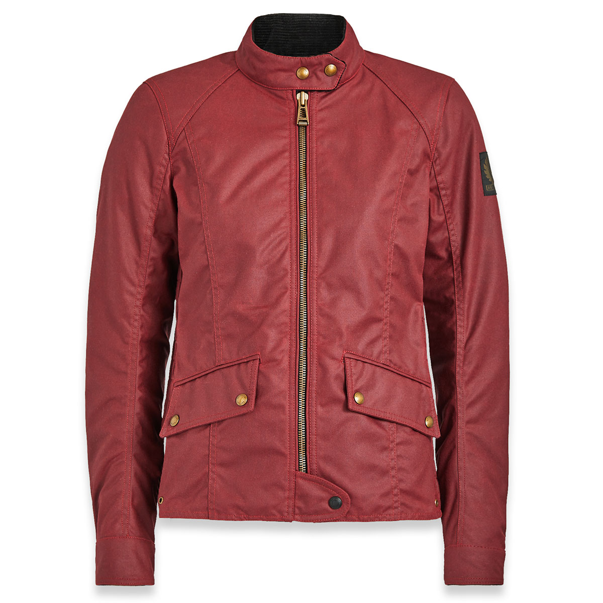 Belstaff Antrim Waxed Cotton Jacket - Racing Red