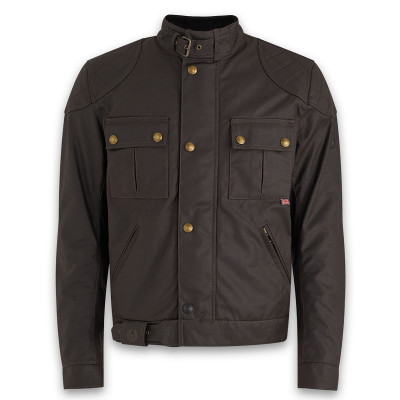 Belstaff Brooklands 2.0 Waxed Cotton Jacket - Mahogany