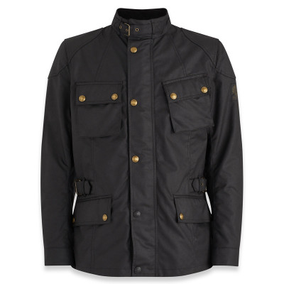 Belstaff Crosby Waxed Cotton Jacket - Black