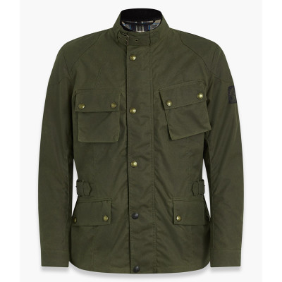 Belstaff Crosby Waxed Cotton Jacket - Forest Green