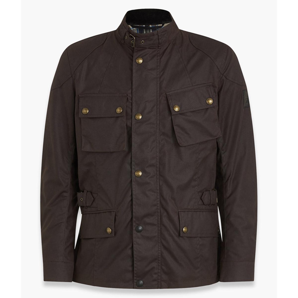 Belstaff Crosby Waxed Cotton Jacket - Mahogany