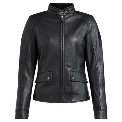 Belstaff Fairing Leather Ladies Jacket - Black