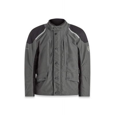 Belstaff Parkway Jacket - Dark Grey / Black