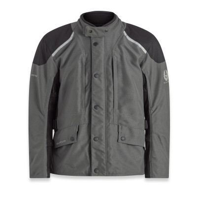 Belstaff Parkway Jacket - Dark Grey / Black