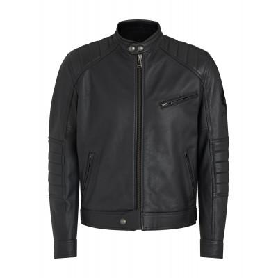Belstaff Riser Leather Jacket - Black