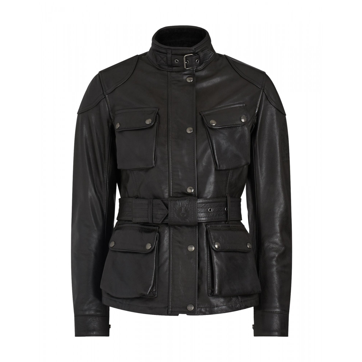 Belstaff Trialmaster Pro Hand Waxed Leather Jacket - Antique Black