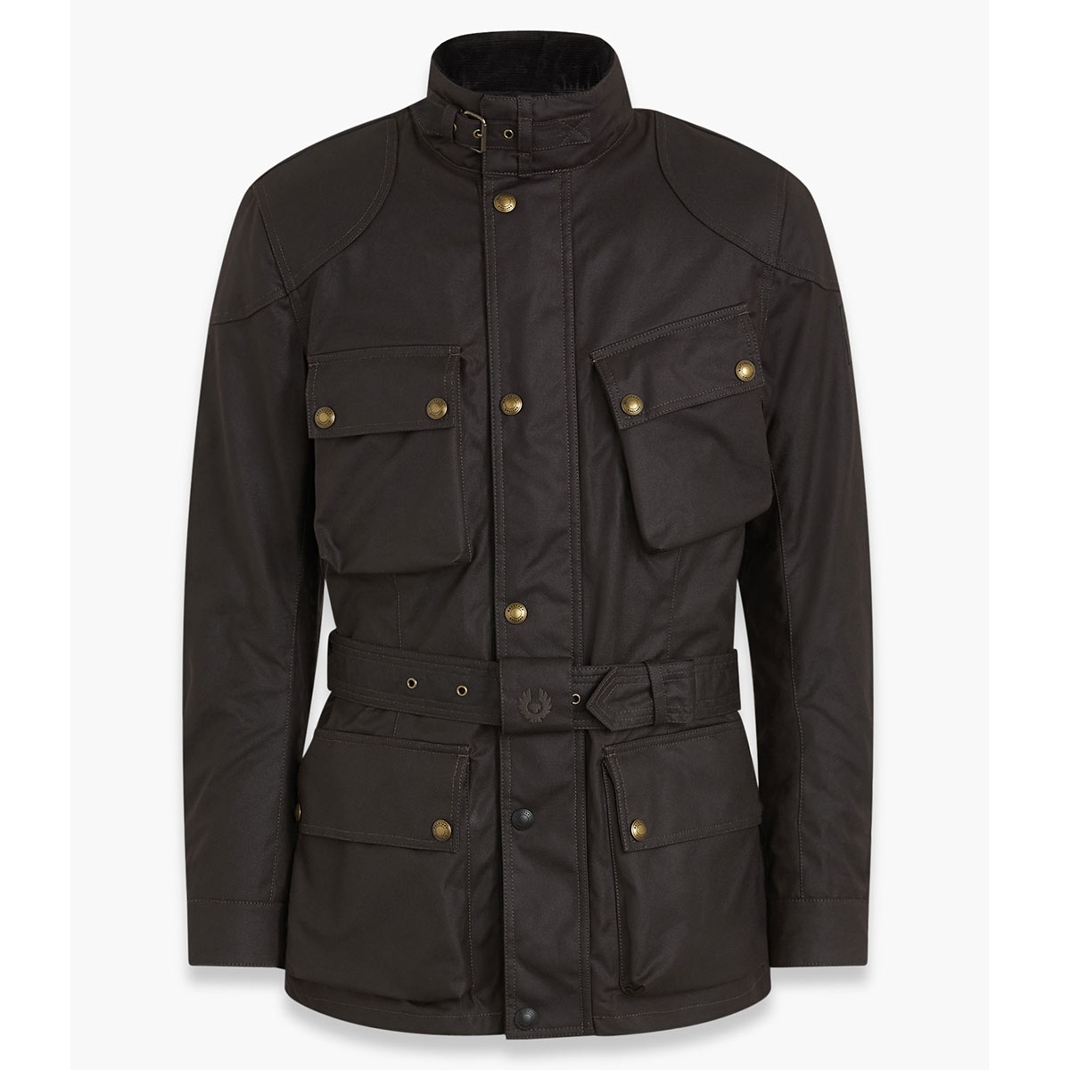 Belstaff Trialmaster Pro Waxed Cotton Jacket - Mahogany