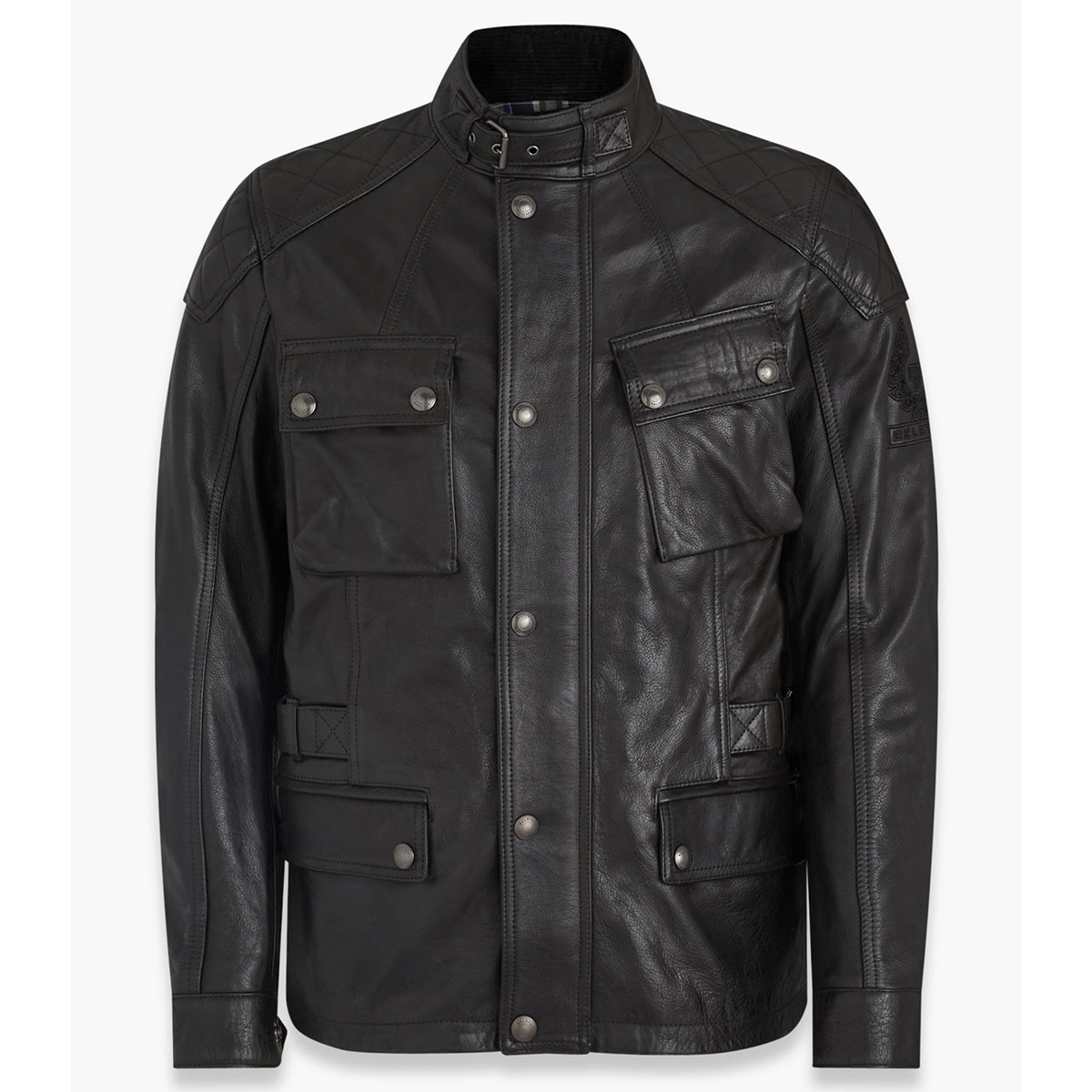 Belstaff Turner Leather Jacket - Antique Black