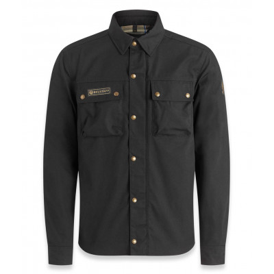 Belstaff Mansion Riding Shirt - Black