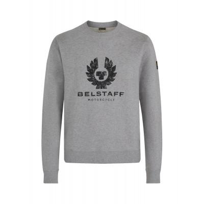 Belstaff Olsen Crew Neck Sweatshirt  - Grey