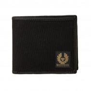 Belstaff Bi-Fold Wallet Canvas Black