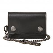Belstaff Trucker Wallet Leather Black