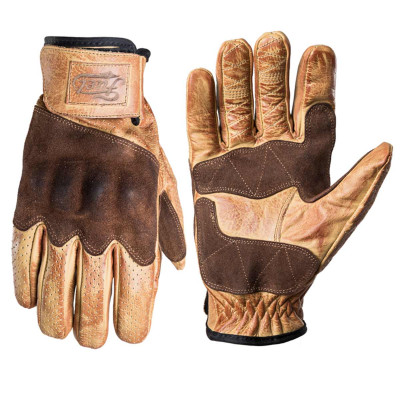 Fuel Rodeo Gloves Yellow