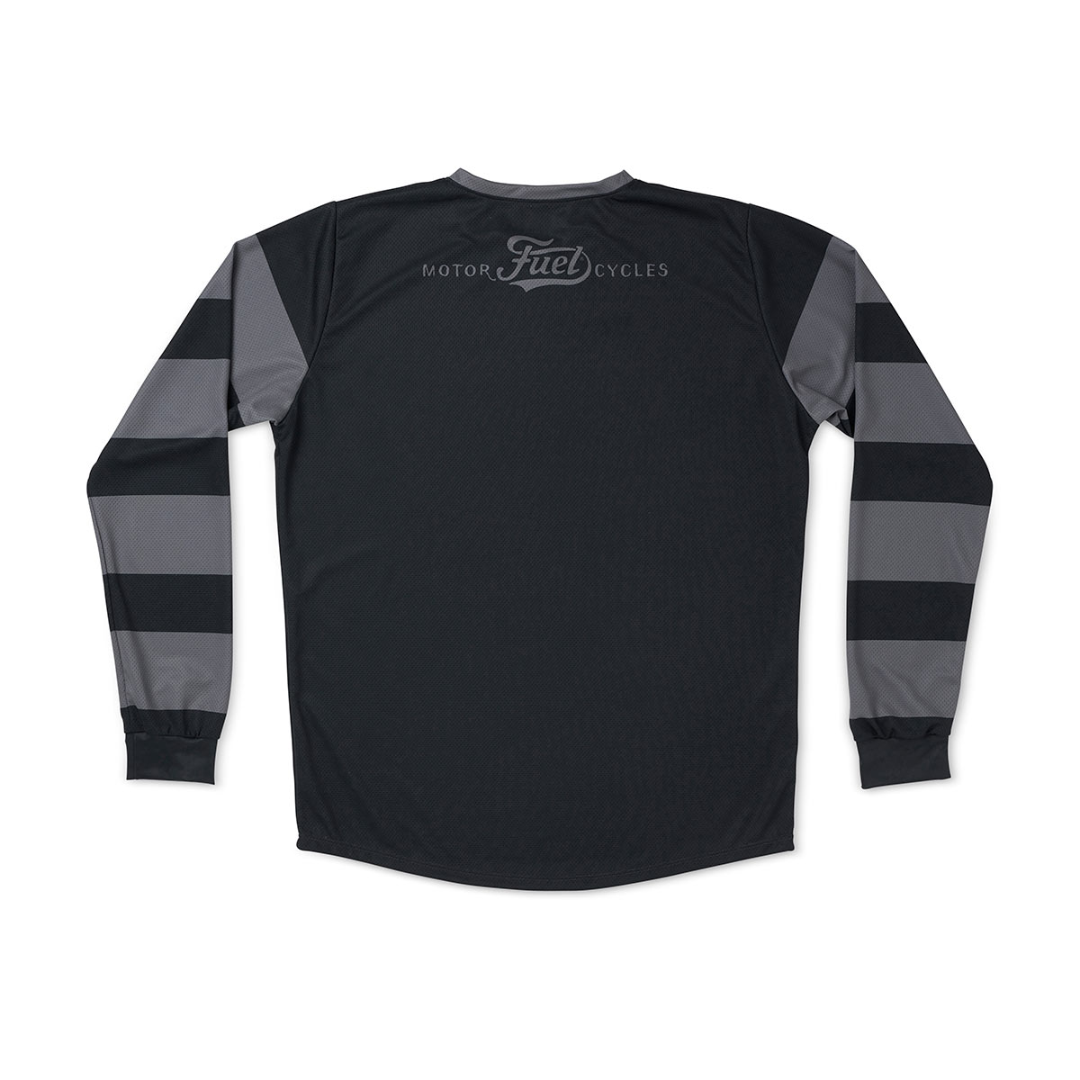 Fuel Grey Stripes Enduro Jersey
