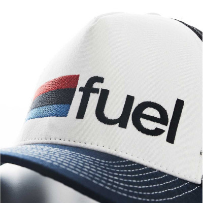 Fuel Rally Raid Cap White