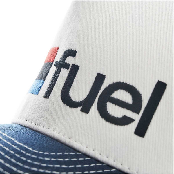 Fuel Rally Raid Cap White