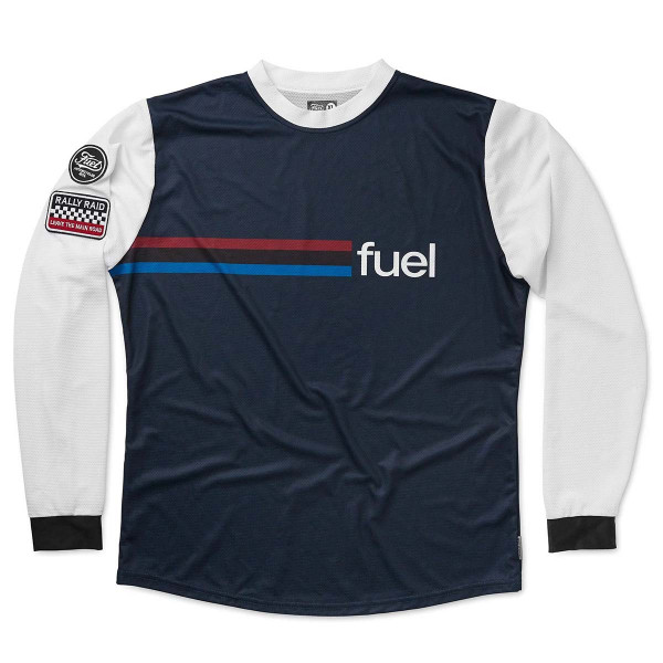 Fuel Rally Raid Jersey Blue