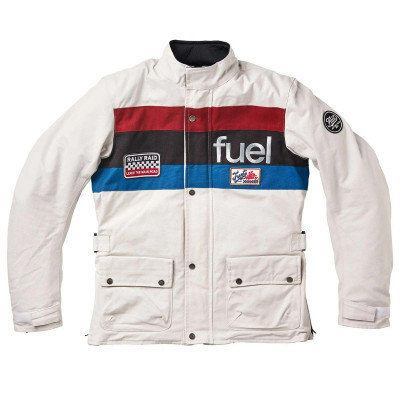 Fuel Rally Raid Jacket White
