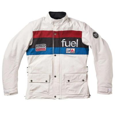 """Fuel """"Rally Raid"""" Jacket White"""