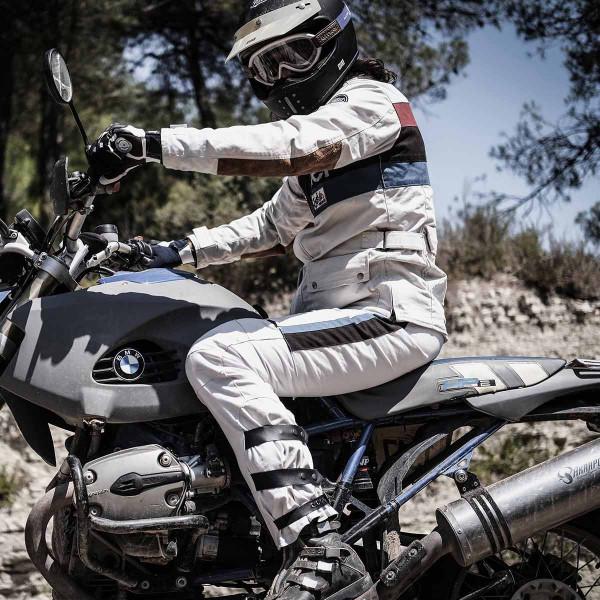Fuel Rally Raid Jacket White