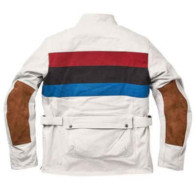 "Fuel ""Rally Raid"" Jacket White"