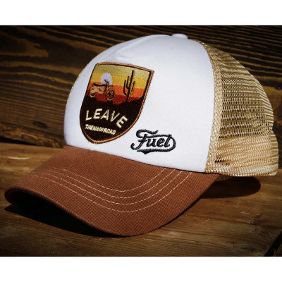 Fuel Rally Raid Cap Brown