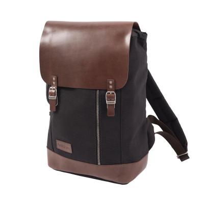 Helstons Backpack - Black / Brown
