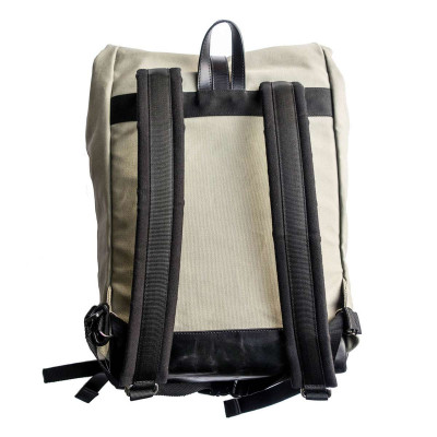 Helstons City Backpack - Beige / Black
