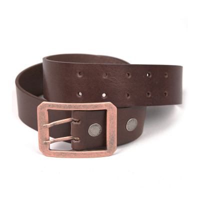 Helstons Double-D Belt - Brown