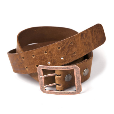 Helstons Double-D Belt - Tan