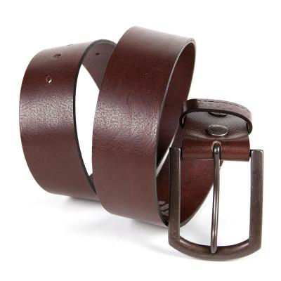 Helstons Plain Belt - Brown