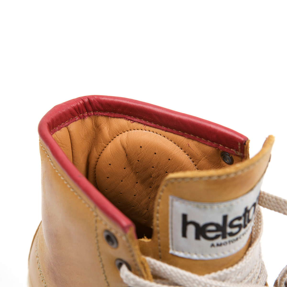 Helstons Ladies C4 Nubuck Peach Boot