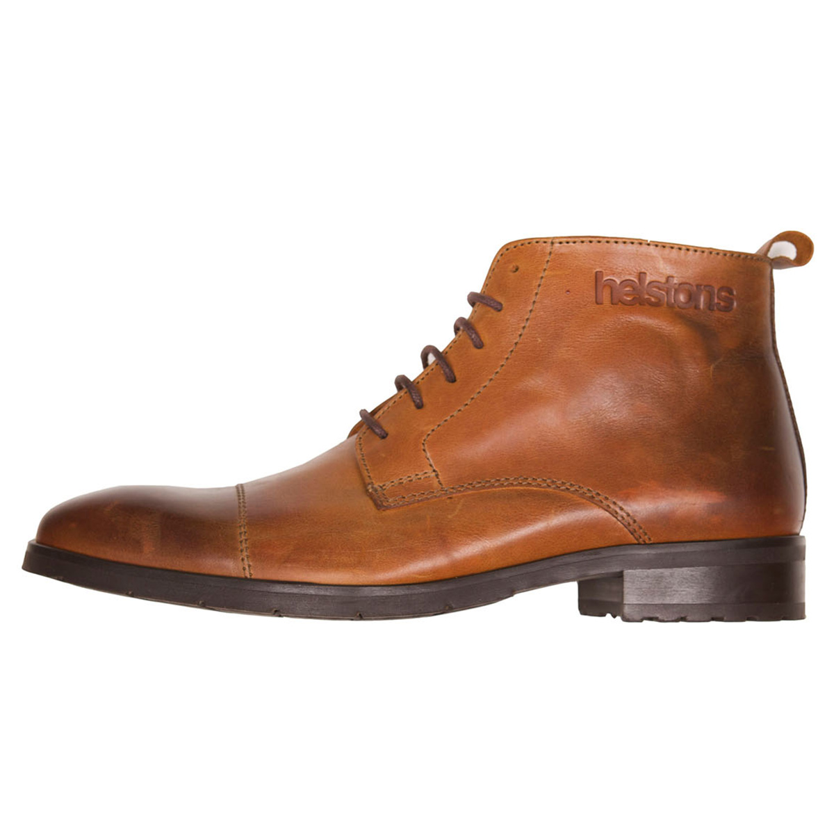 Helstons Heritage Leather Boot Camel