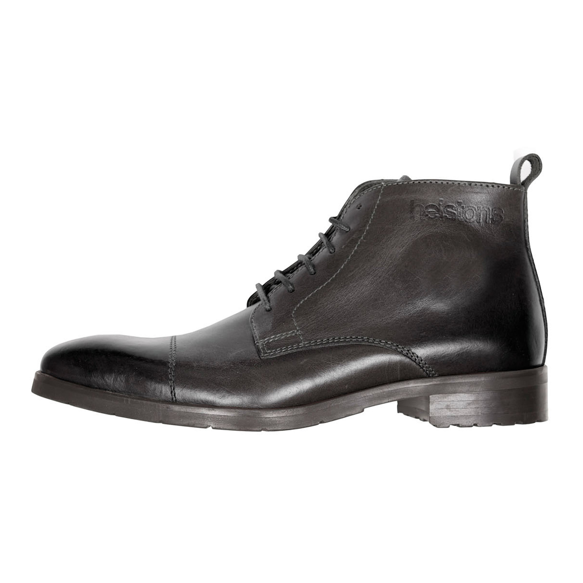 Helstons Heritage Leather Boot Black