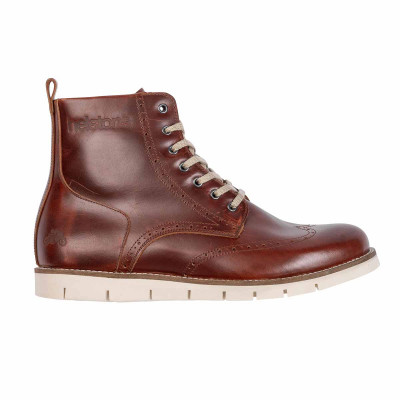 Helstons Holey Brown Leather Boots