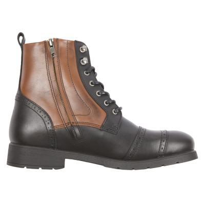 Helstons Travel Boots Black-Tan