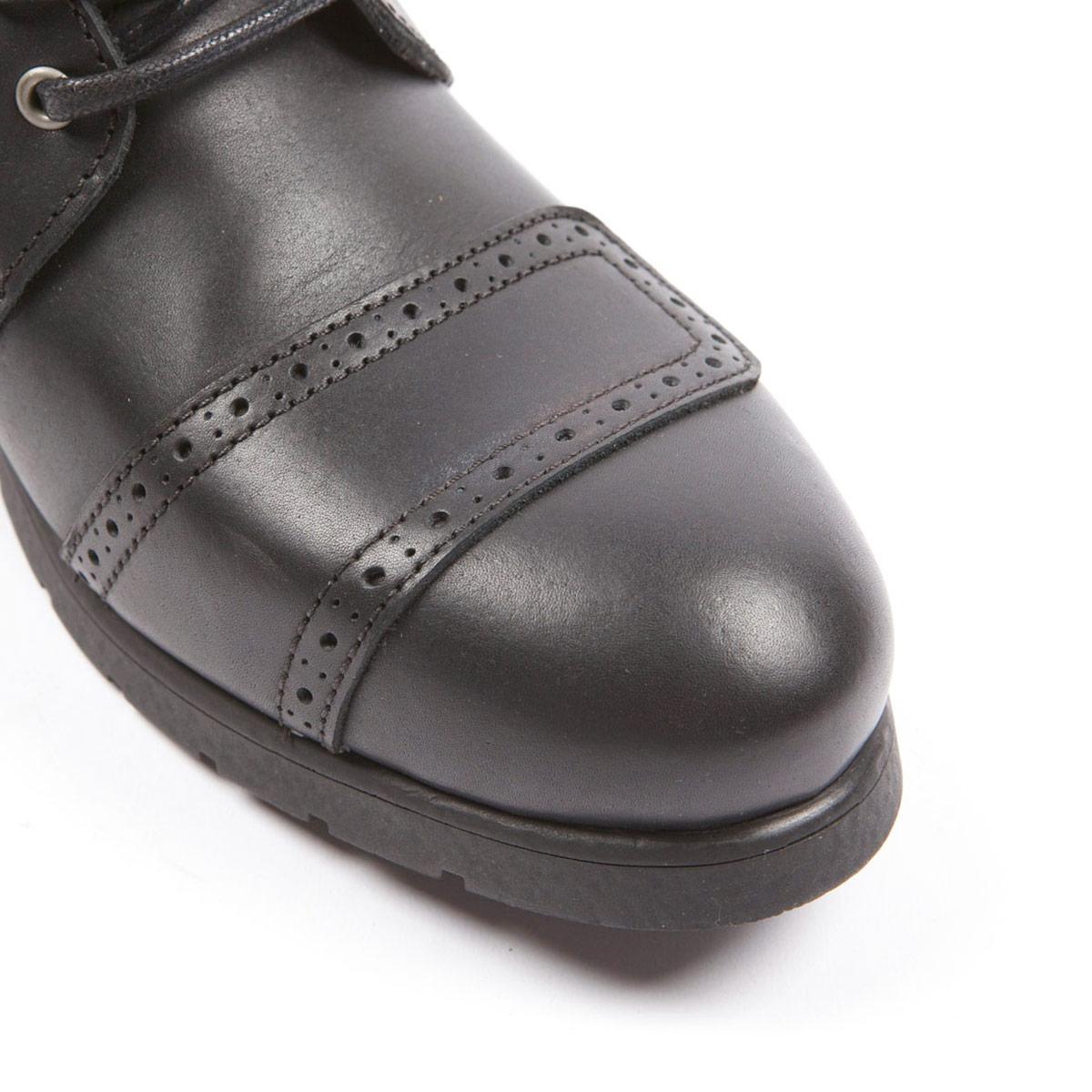 Helstons Travel Boots Black-Tan