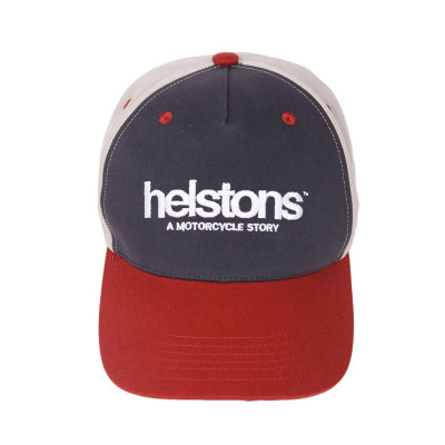 Helstons Corporate Red-Blue-Grey Cap