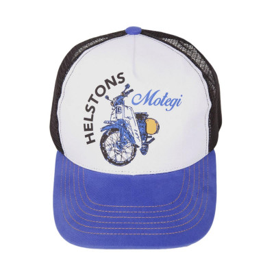 Helstons Cub Cap Blue-White-Black