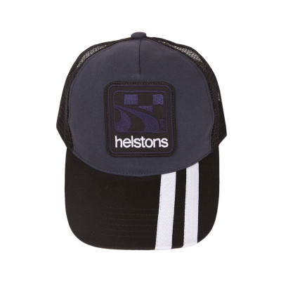 Helstons Shelby Cap Blue-White