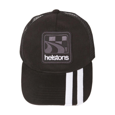 Helstons Shelby Cap Black-White