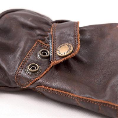 Helstons Boston Summer Waterproof Brown Gloves