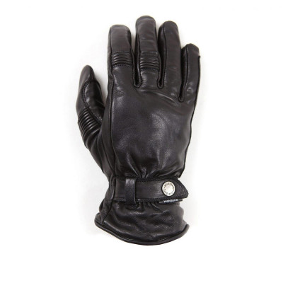 Helstons Boston Summer Waterproof Black Gloves