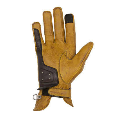 Helstons Condor Summer Gold Brown Leather Glove