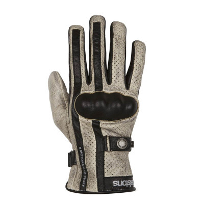 Helstons Eagle Beige/Black Summer Glove