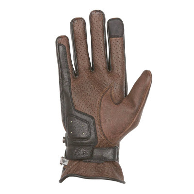 Helstons Eagle Camel/Black Summer Glove