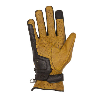 Helstons Eagle Gold/Brown Summer Glove