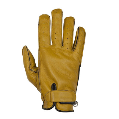 Helstons Hiro Gold/Black Summer Glove